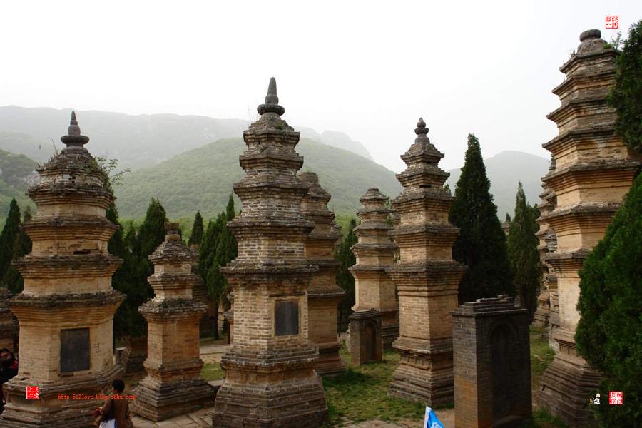 从少林寺到了五台山呢.&nbsp