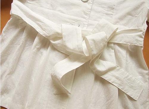 腰带蝴蝶结の系法