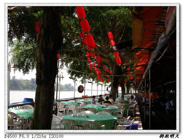 图片:在仑头海鲜城午餐