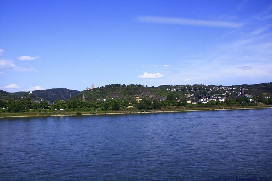 从st.goar到科布伦茨(火车上看到的风景)