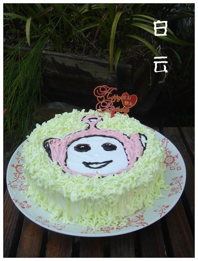 烨烨的生日蛋糕(天线宝宝)