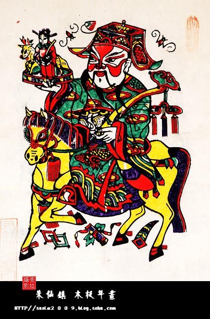 悬若游丝的艺术---朱仙镇木板年画
