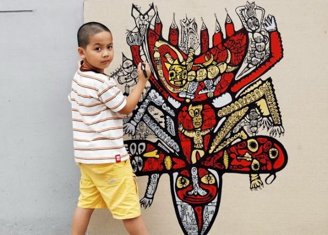 八岁儿童画