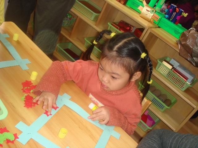 幼儿手工制作搭积木