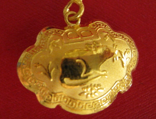 桐爸送给桐桐的小金锁