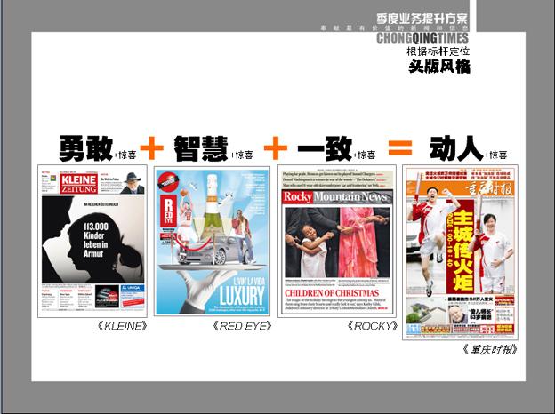 中国小型报纸的封面设计风格取向