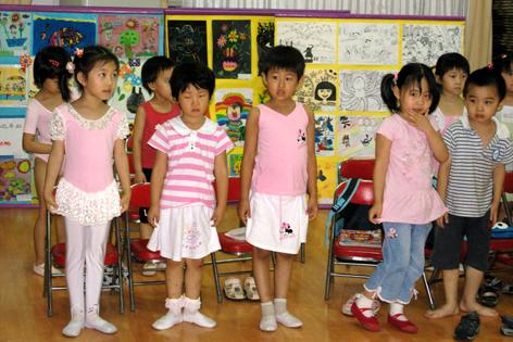 中班下学期兴趣班汇报课--舞蹈