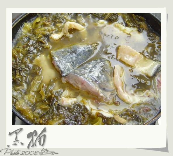 炎炎夏日,吃了酸菜鱼,心情会像吹了凉风一样惬意.