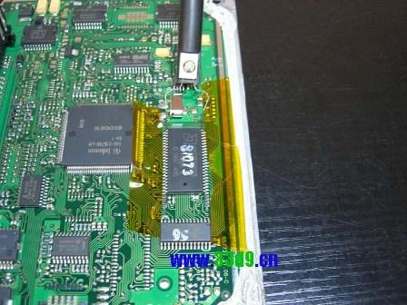 捷达023ad电路板喷油驱动芯片图