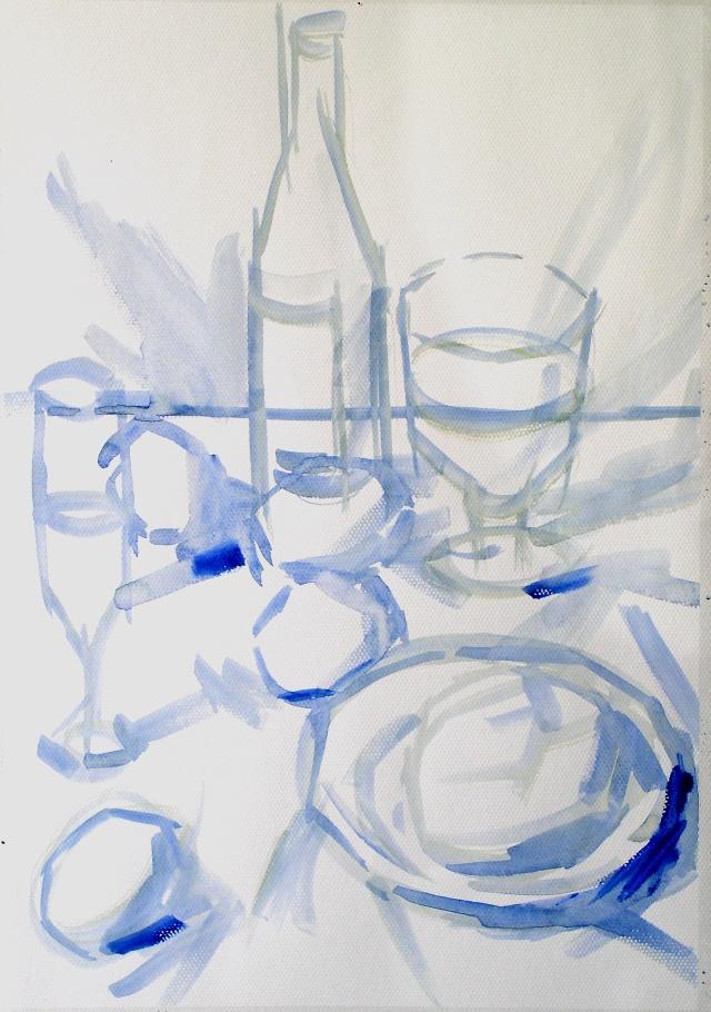杯子组合简笔画步骤