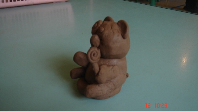 简易陶艺作品步骤图片