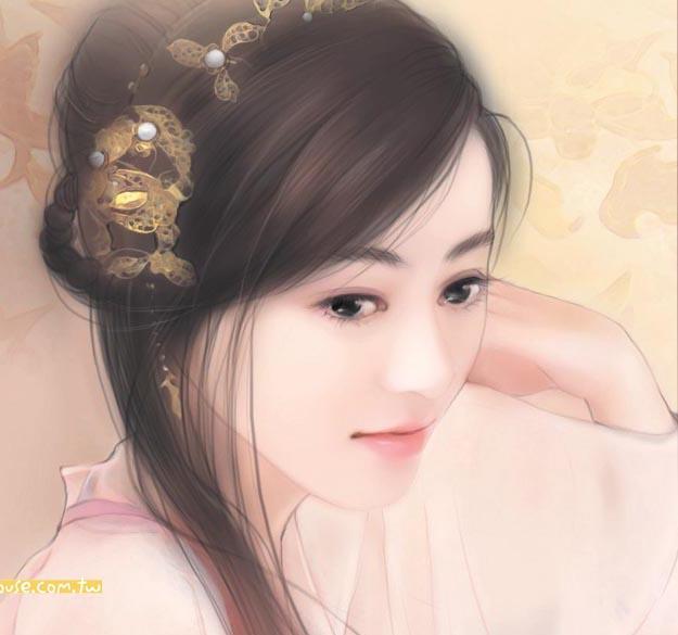 手绘古装美女图 - 谈古论今 - 大杂烩 - 搜狐圈子