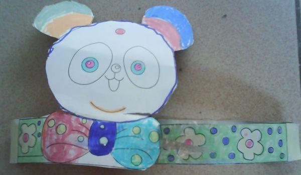 二年级美术画画小熊,不