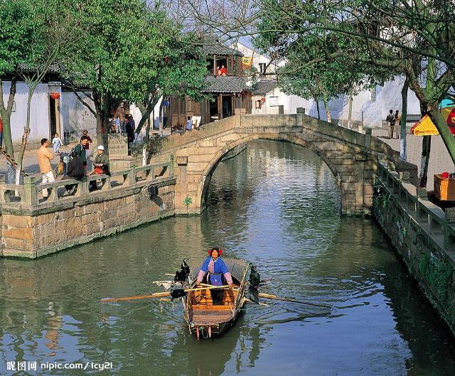 描写江南水乡风景的古诗词