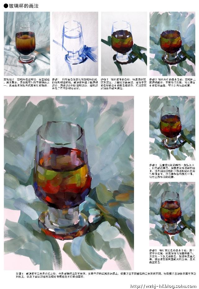 单个静物色彩_色彩静物中单个物体的画法——器皿类(包括陶瓷、饮料瓶 ...