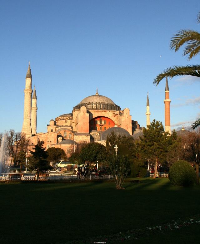 神游土耳其连载八 伊斯坦布尔之圣索非亚大教堂