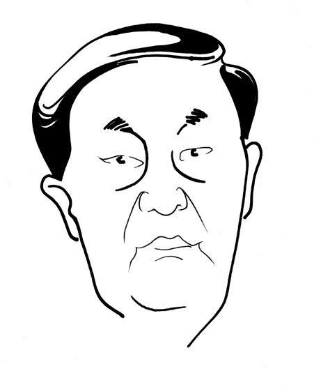 当红明星漫画大头像,哈哈,搞笑! -上海迦诺异象手绘墙