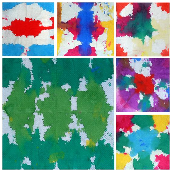 体验色彩侵润渲染的艺术表现手法