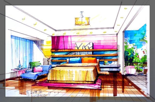卧室取之温馨,一切设计的中心   客厅3d效果图   餐厅3d效