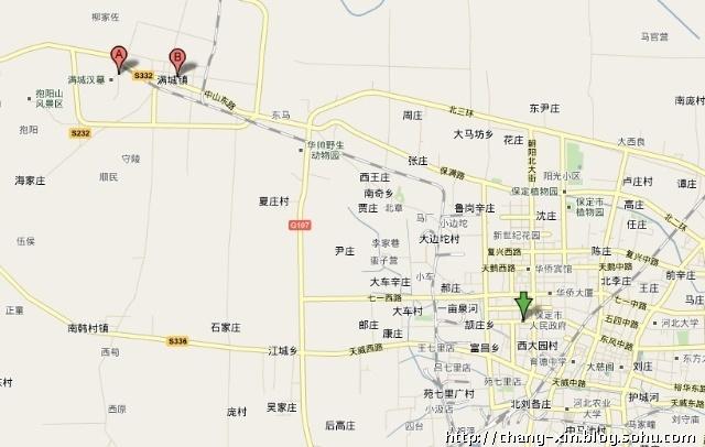 博山石门风景区地图