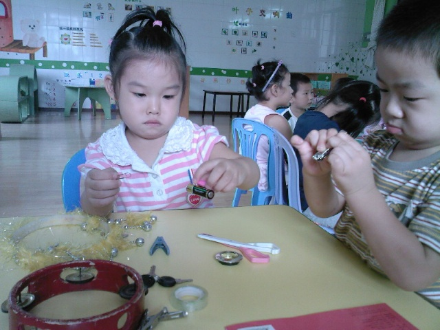 科学小实验(神奇的磁铁)——7班-神龙幼儿园-搜狐