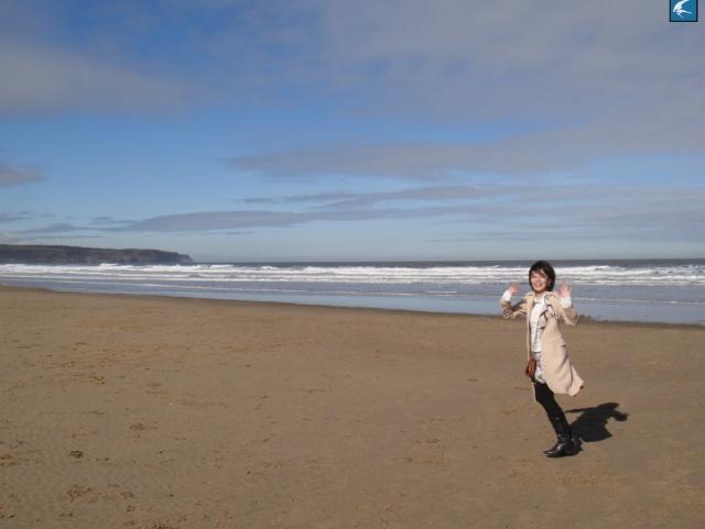 我去海边吹吹风