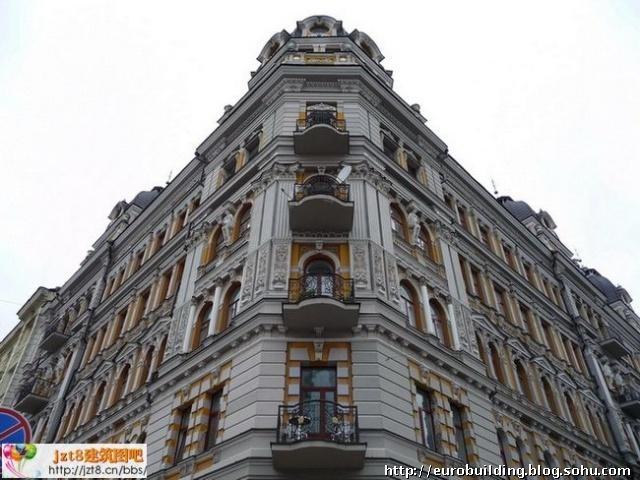 在室内设计中欧式建筑和俄式建筑的区别