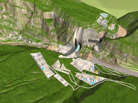 (图片540)白鹤滩水电站设计图.
